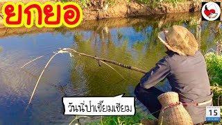 ยกยอ Use fake bait ►Fishing lifestyle Ep.210