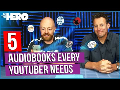 Five Audiobooks Every YouTuber Should Listen To