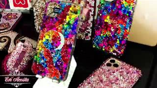 IPHONE 11 PRO MAX BLING CASE(SWAROVSKI ELECTRIC COLORS)