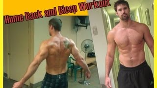 Home Back and Bicep Workout - Supersets by Brad Scott Fitness