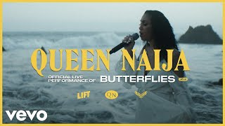 """You got me all up in my feelings,"" sings Queen Naija during our exclusive LIFT performance of ""Butterflies"" at LA's El Matador beach. Fans know that the R&B newcomer's vocal skills are always out front when she does let those feelings rule, and Naija's modern soul approach, which can be heard on tracks such as ""Medicine"" and ""Karma,"" is becoming more and more fetching with each new release. This week, our LIFT program will give fans another live video and a cool profile of the YouTube hero. For the last few years, Queen Naija has been pleasing her sizable audience by inviting them into her all aspects of her life as a wildly popular vlogger. Boasting three million subscribers, her YT channel has focused on delivering personal candor. When she and her husband split last year, it prompted her to hit the studio and not only vent some frustration but stand up for women everywhere. ""Medicine"" busted the the 22-year-old to the next-level success that she's enjoying right now. Her follow-up track on the same subject, ""Karma,"" which we recently offered a live version of, is just as revealing. If you loved both of those, you need to check this guitar-and-voice spin of ""Butterflies,"" shot live with a gorgeous section of California coastline as a backdrop. Share it with a friend.   Director: Micah Bickham Producer: Maura Scully, Contrast Films  Editor: Colton Fordyce   Watch Queen Naija videos: https://bit.ly/2KklDpL   Watch Queen Naija perform and explain ""Karma"": https://bit.ly/2Nvjj5d  Vevo  http://facebook.com/vevo  http://twitter.com/vevo  http://instagram.com/vevo   Queen Naija Instagram: https://www.instagram.com/queennaija Twitter: https://twitter.com/queennaija Facebook: https://www.facebook.com/QueenNaija/  http://vevo.ly/Rbri1d"