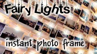 HANDMADE Polaroid Photo Wall String Light Frame