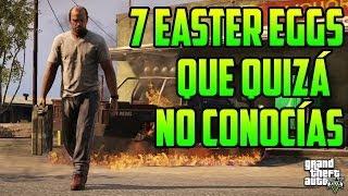 GTA 5 - 7 Easter Eggs Que Quizá No Conocías (GTA V)