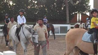 preview picture of video 'Hessa in Kuwait Riding School'