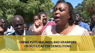 Jumwa puts Malindi land grabbers on notice after demolitions | Kholo.pk