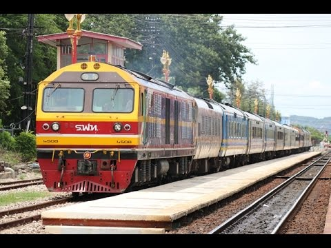 SRT-KTMB Special Train Departing Hua Hin Station