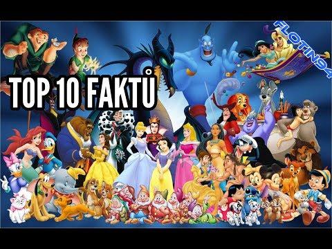 TOP 10 FAKTŮ o Disney Filmech