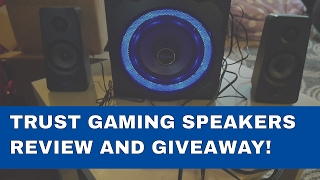 Trust GXT 628 2.1 Speakers Review !