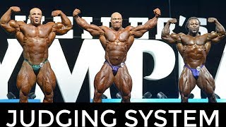 Mr Olympia Judging System EXPLAINED !!!