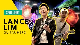 Play Guitar Hero with School of Rock's Lance Lim
