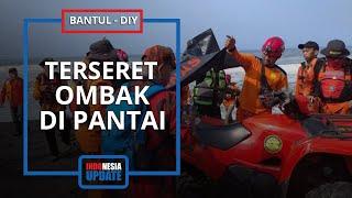 1 Korban yang Tergulung Ombak Belum Ditemukan, Tim SAR Sisir Pantai Goa Cemara hingga Muara Trisik