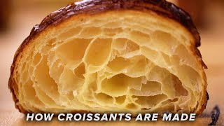 How Croissants Are Made •Tasty