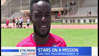 Harambee Stars depart to Cairo to face Egypt in 2021 AFCON qualifiers