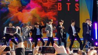190515 Boy With Luv @ BTS 방탄소년단 Good Morning America GMA Summer Concert Series 2019 New York City
