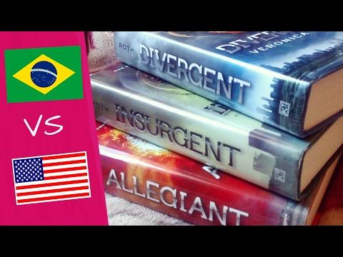 DIVERGENT | Edição Brasileira vs. Edição Americana