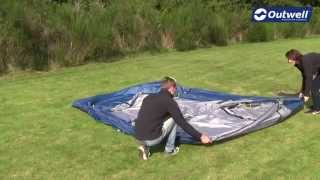 Outwell Cloud 5 Tent Pitching Video |  Innovative Family Camping