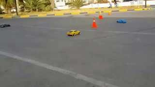 preview picture of video 'Libya RC Drifters,, HPI Sprint 2 Flux Camaro.,,. Tripoli'