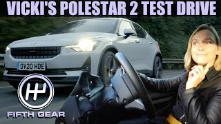 Vicki's Polestar 2 Test Drive | Fifth Gear by Fifth Gear