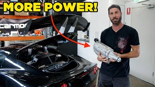 Lotus Supercharger Upgrade (with dyno power run and suspension)