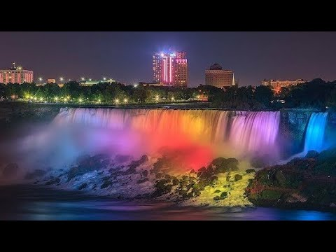 Unbelievable! Latest Niagara Falls Night View and Maid of the Mist(don't miss the end) #niagarafalls
