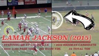 Texas QB Recreates the Lamar Jackson Move