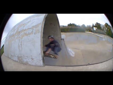 Zionsville, Indiana And Kokomo, Indiana Pipeline Skatepark Clips - Brandon Hanson.