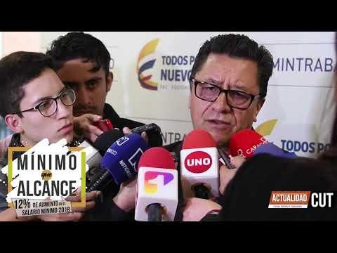 Informe tercera sesión de negociación Salario Mínimo 2018