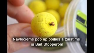 STARBAITS Slovakia - montáž na pop up