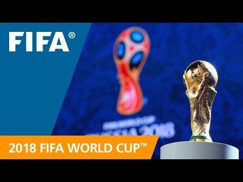 2018 FIFA World Cup Russia Final Draw - LIVE info graphic presentation