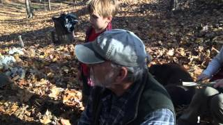 Basic Flint Knapping @ Earthworks Primitive Tools and Crafts