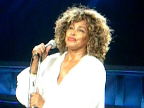 "Tina Turner: ""Be Tender With Me, Baby"" Sheffield Arena - 5 May 2009"
