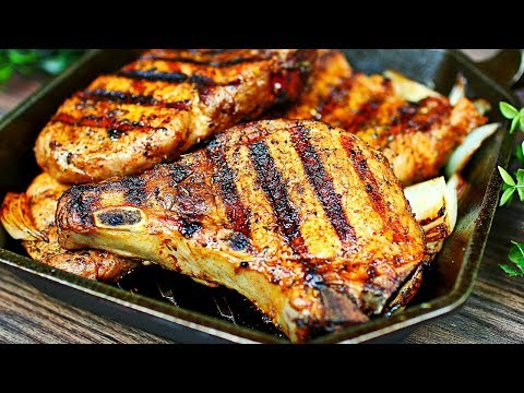 How to make Tender grilled Pork Chops - Perfectly grilled Pork Chops Recipe