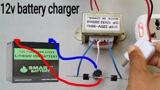 How to make a 12v Battery Charger at home