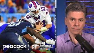 Analyzing Buffalo Bills' decision to run late quarterback sneak | Pro Football Talk | NBC Sports