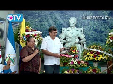 Compañeros Adán Chávez y Elías Jaua visitan Matagalpa: pueblo expresa su solidaridad a Venezuela