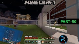 MINECRAFT | BUILDING A SHOPPING MALL AND ELEVATOR WITH SOUL SAND AND MAGMA BLOCK#50