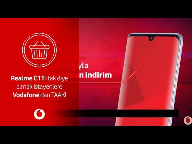 Realme C11'i tak diye almak isteyenlere Vodafone'dan TAAK!