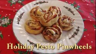 Holiday Pesto Pinwheels