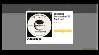 How to order my original break beat funk 45 vinyl