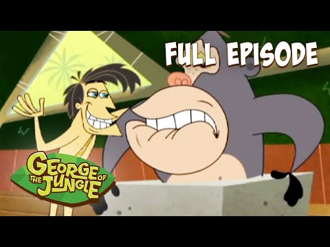 George Of The Jungle | Ape Goes Ape | HD | English Full Episode | Funny Cartoons For Kids