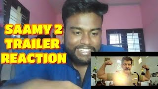 SAAMY 2 Official Trailer Reaction   Chiyaan Vikram   Hari   DSP   Thameens Films   Saamy Square