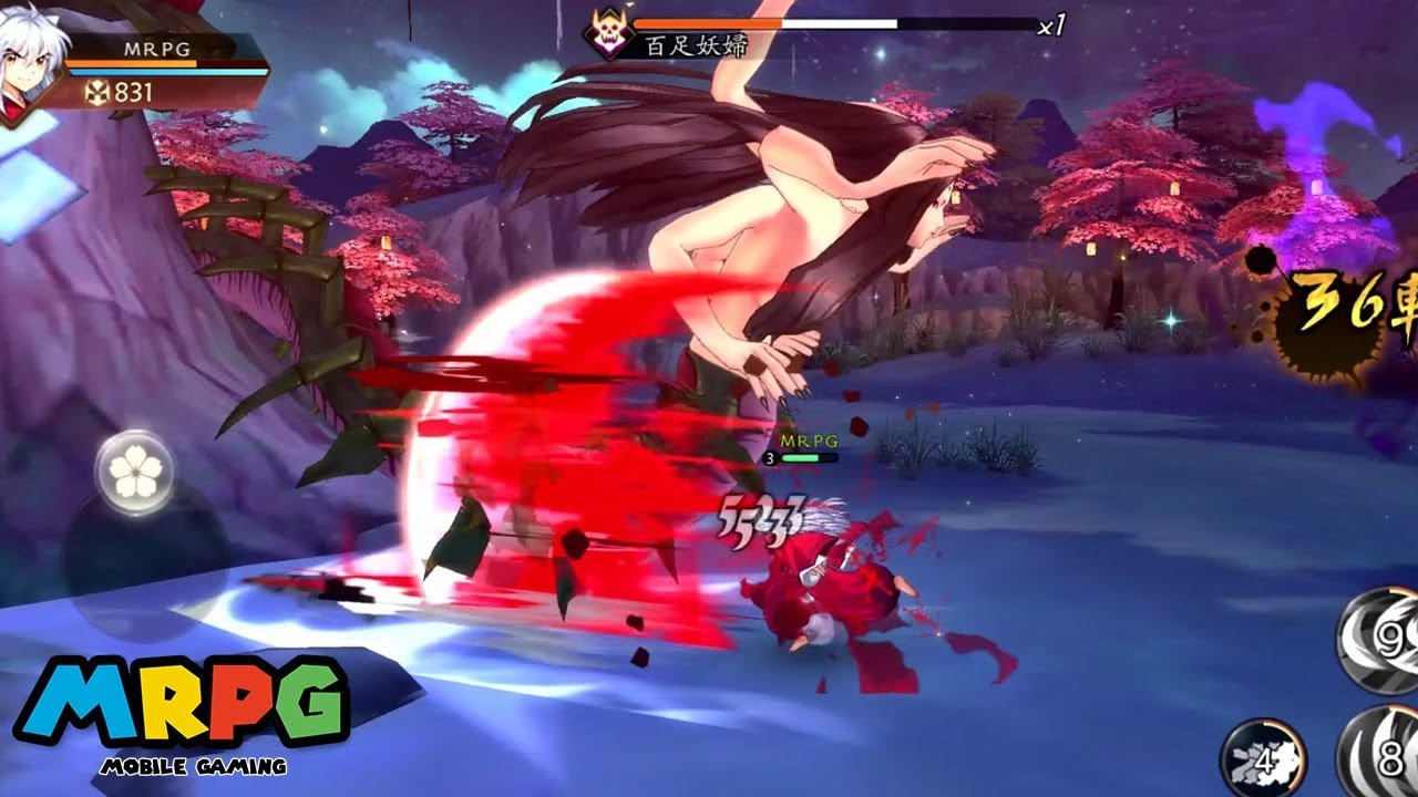 Inuyasha: Battle of Naraku Android Gameplay (Open World