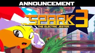 Spark the Electric Jester 3 - Aankondiging
