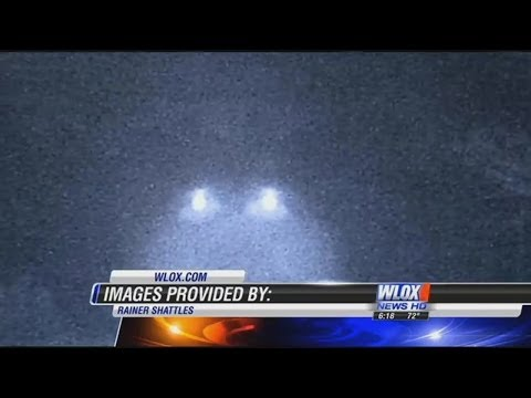 Glowing UFOs Caught On Deer Cam In Jackson Co. Mississippi