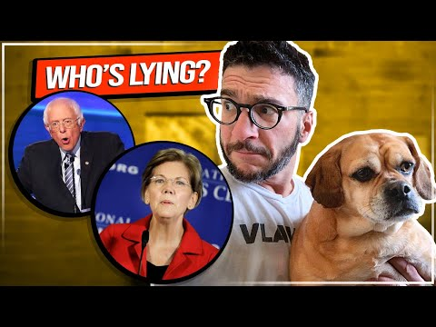 This Is Why Nobody Trusts CNN! Warren vs. Sanders Explained | Viva Frei Vlawg