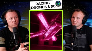 Racing Drones & 5G Technology Provided by T-Mobile to Drone Racing League. Talk on Trigger Seattle