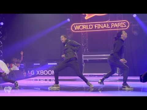 Les Twins ft Salif Performance at RedBull DYS World Finals | Paris, France YAK FILMS