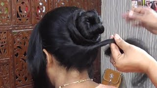 Engagement Hair Style 2018/Simple and Easy Party Hair Style