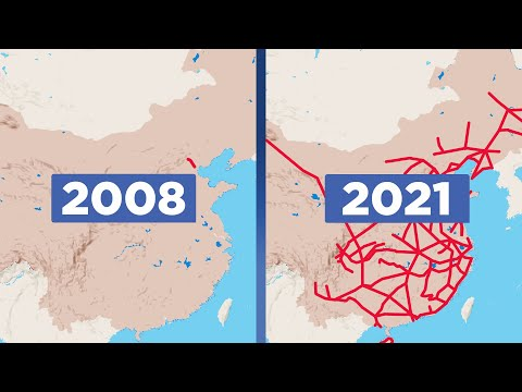 How China Broke All Records With Its High-Speed Railway
