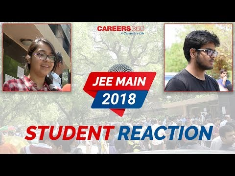 JEE Main 2018 - Student Reaction After Paper 1 Exam!